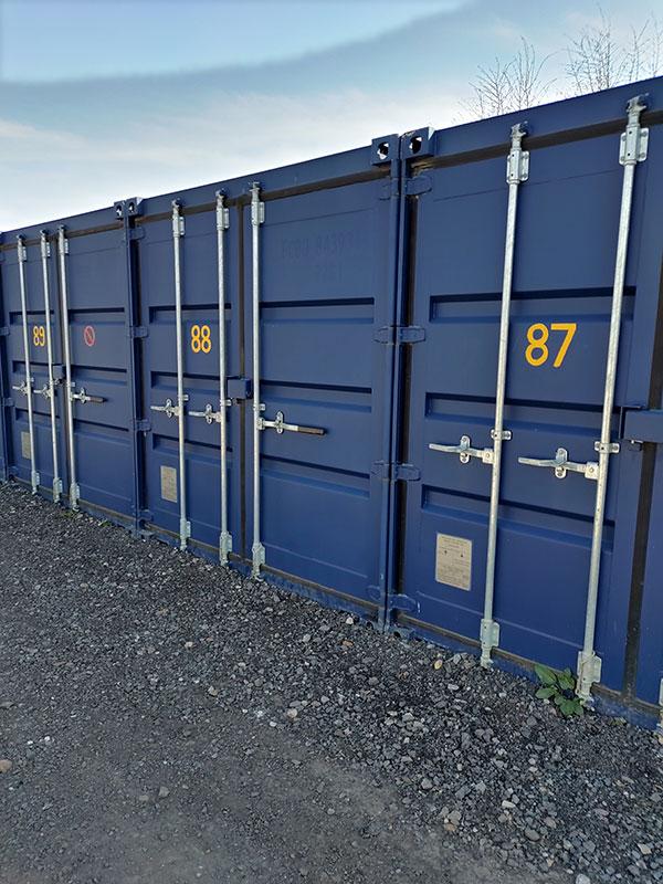 Shipping containers, Deddington
