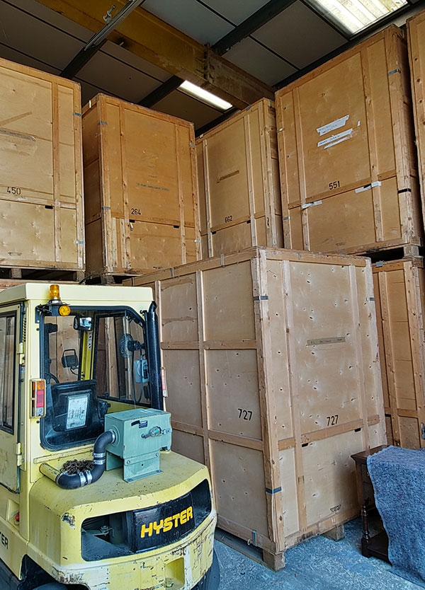 Storage boxes in Deddington